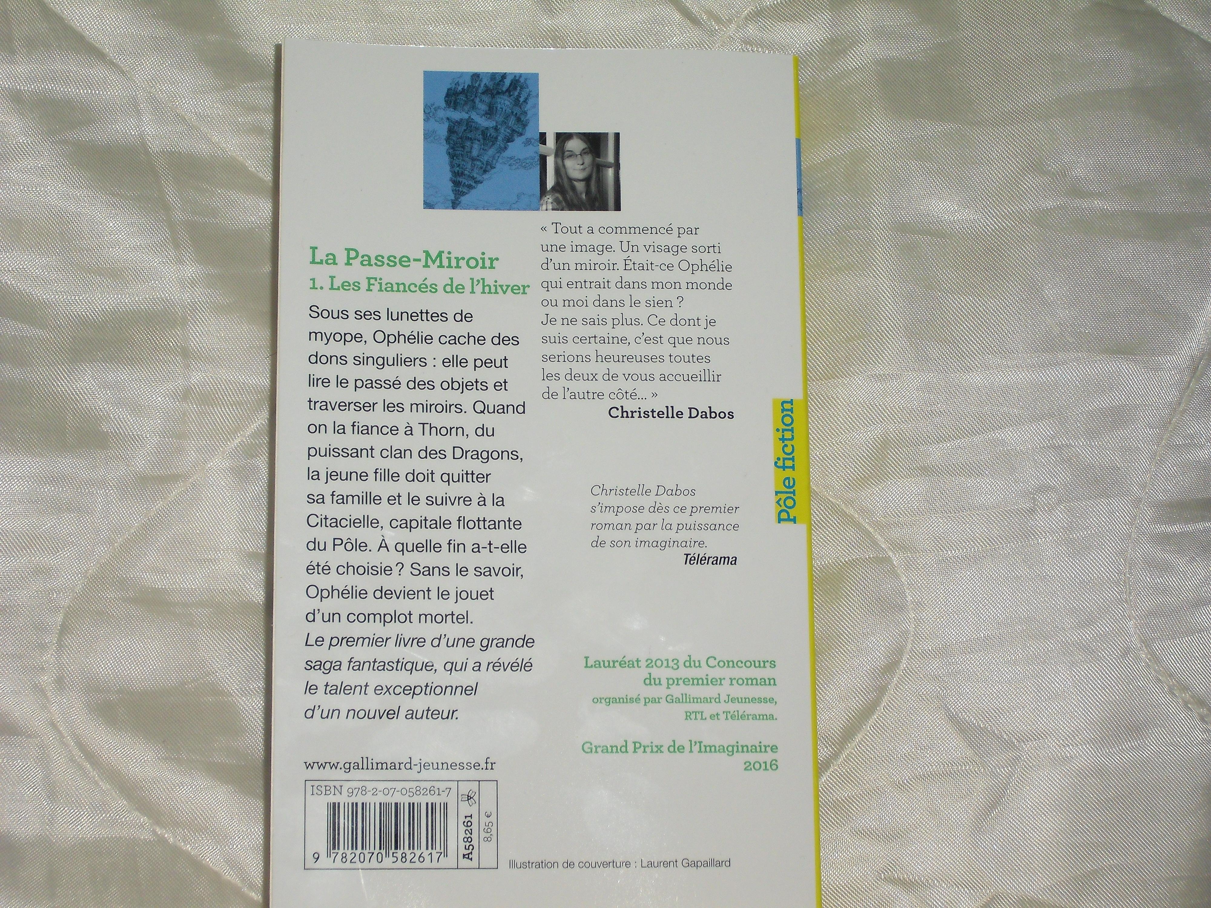 La Passe Miroir Tome 1 Les Fiancés De L Hiver Books Dreams