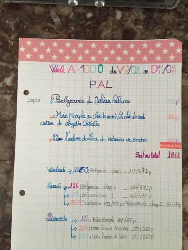 Bilan Week-end à 1000 Février 2018
