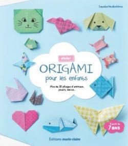 Atelier Origami pour les enfants de Sayaka Hodoshima