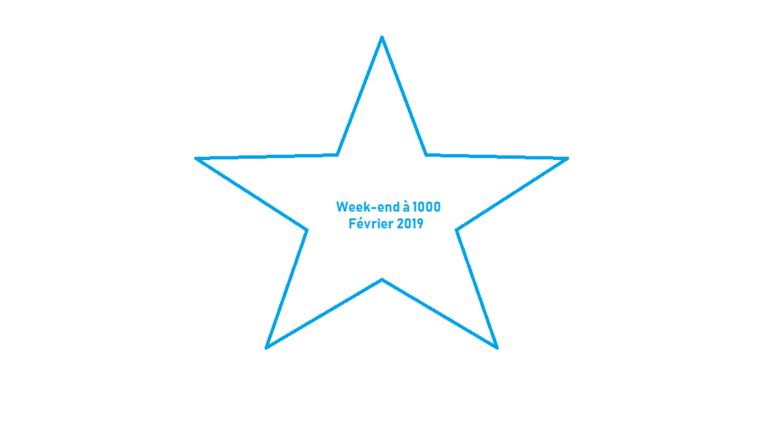 Bilan Week-End à 1000 – Février 2019